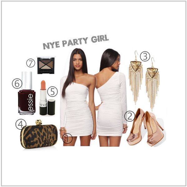 What to Wear for New Year's Eve: The Party Girl