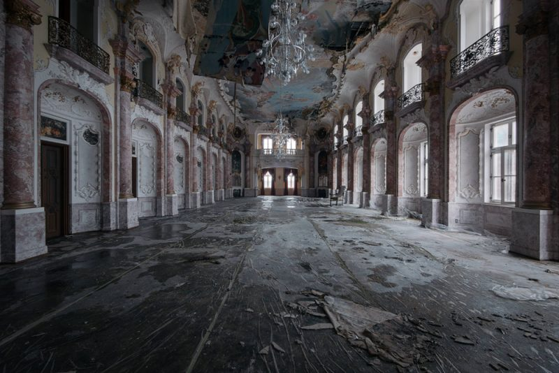 Eerily Beautiful Abandoned Buildings