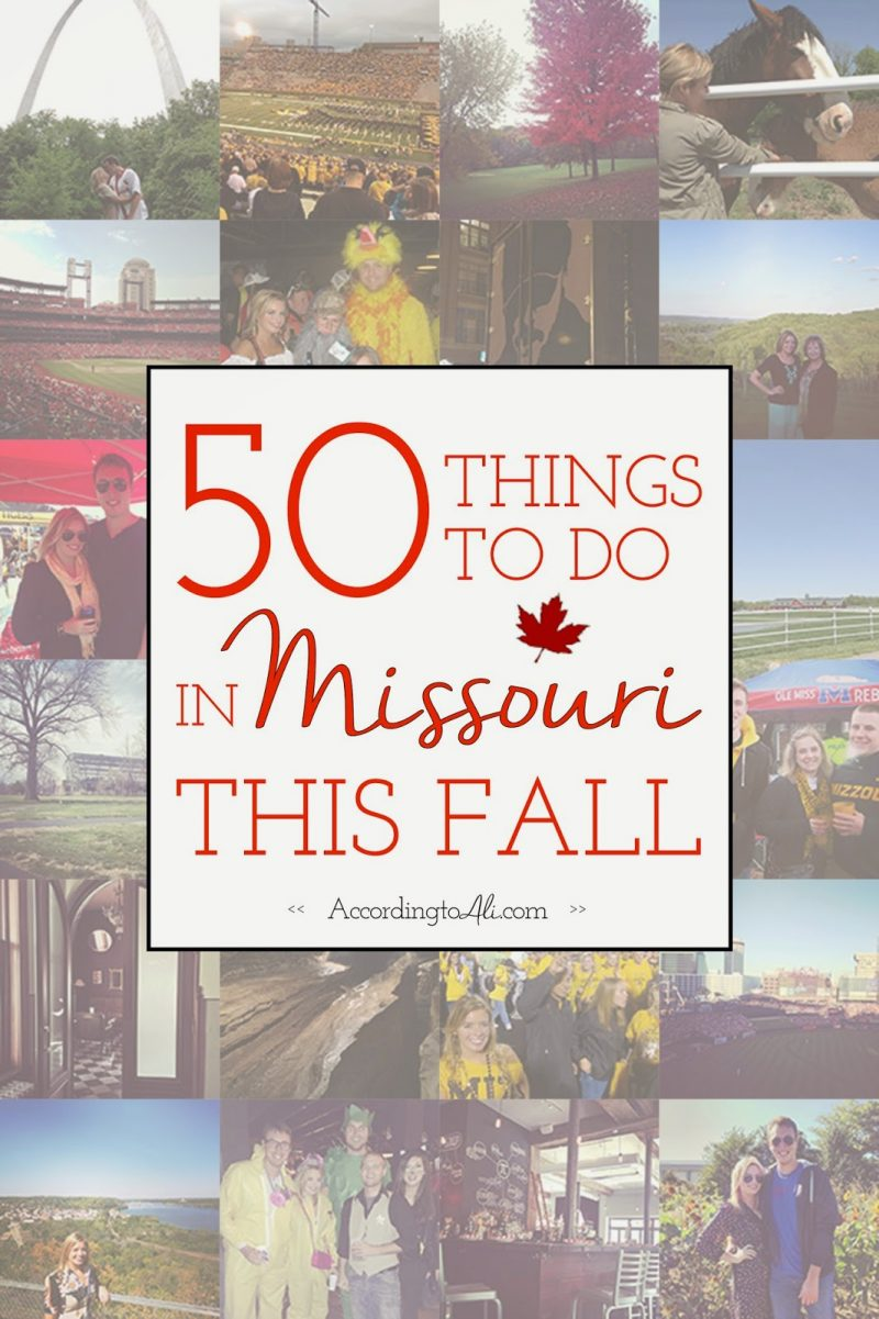 50 Things to Do in Missouri This Fall