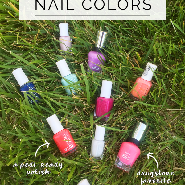 My 10 Favorite Nail Polish Colors for Spring