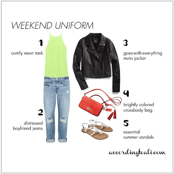 Lazy Summer Weekend Uniform