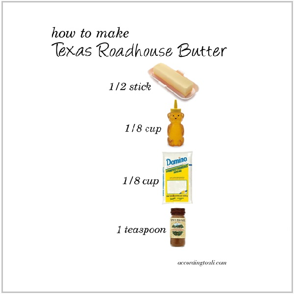 How to Make Texas Roadhouse Butter in 3 Easy Steps