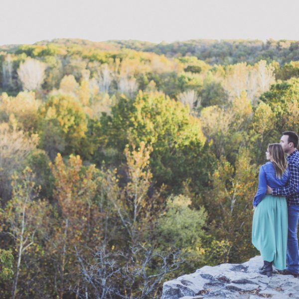 Our Rustic Country Columbia, Missouri Engagement Photos