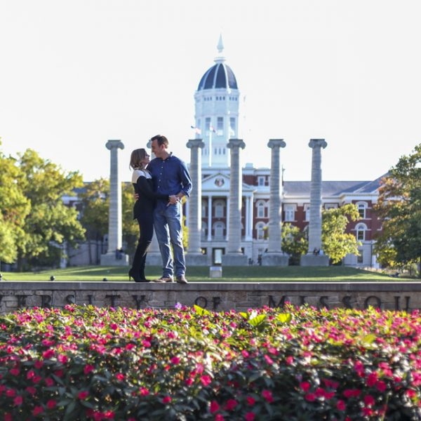 Our Mizzou Campus Engagement Photos